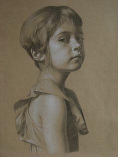 Brett Edenton ~ Rose (charcoal)