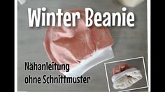 Winter Beanie - Nähanleitung OHNE Schnittmuster - Nähtinchen