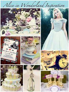 Alice in Wonderland inspiration board