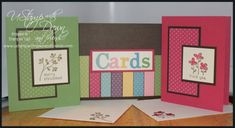 Quick and Easy Cards for UStamp with Dawn and Friends by stampin_mama - Cards and Paper Crafts at Splitcoaststampers