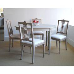Gustavian chairs - Tone on Tone