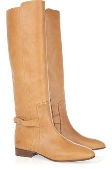 Chloé|Tucson leather and metal boots|NET-A-PORTER.COM - StyleSays