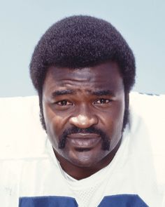 Check out the Big Cat's big 'stache! Rayfield Wright - known as the Big Cat - during his playing days with the Cowboys is wearing our featured #Movember mustache of the day. Click image for HOF bio.