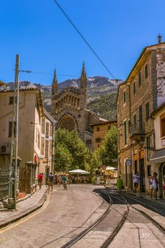 View of Soller, Mallorca (Spain)