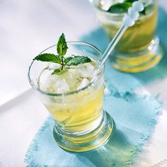 Summer Mint Julep - Once you make the simple syrup, this drink is a breeze to put together.