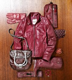 Faves Style Fall Fashion: Scarlet Leather #RRItaly