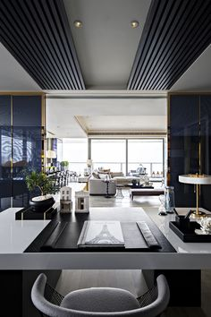 """""""One Shenzhen Bay"""" is a set of skyscrapers under construction in Shenzhen, Guangdong, China designed by Kelly Hoppen.  #Room #Decor #LuxuriousLiving"""
