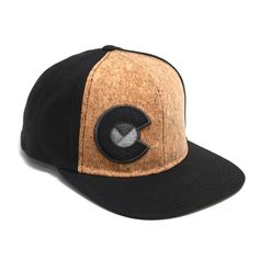 d6f5b5b3852 One of our most unique YoColorado hat yet. The Yo Corky! All cork front