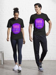 """Game Over 2020"" Active T-Shirt by kestrada2906 | Redbubble Cute Designs, Shirt Designs, Retro Cartoons, Red Logo, Health Matters, Cartoon Styles, Female Models, Chiffon Tops, T Shirt"