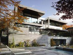 Toronto Residence by Belzberg #Architects   A-Frame / Ben Rahn