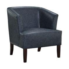 Brooklyn and Max Dennison Tub Chair, Blue