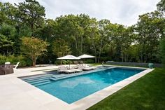 Congratulations, you have decided to buy a new swimming pool or redesign your old one. You will now need to give serious thought to swimming pool designs. You should certainly take your time making the decision because the design of… Continue Reading → Backyard Pool Landscaping, Small Backyard Pools, Backyard Pool Designs, Swimming Pools Backyard, Swimming Pool Designs, Outdoor Pool, Small Inground Pool, Lap Pools, Indoor Pools