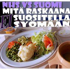 Britannian ja Suomen raskausajan ruokarajoitukset vertailussa. Kumpi on tiukempi? http://blogit.kaksplus.fi/meriannenmielessa/2015/06/23/valta-naita-ruokia-raskauden-aikana/