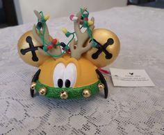 Disney Pluto Hat Christmas Ornament