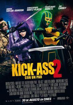 Es una pena que el resultado deKick Ass 2: con un par haya sido este. En la primera parte,Chloë Grace Moretz era la pequeña chica deDéjame entrar (Let me in, 2010), pero aquí ya está un poco más...