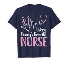 Check this every bunny's favorite nurse t-shirt nurse funny easter gift-Yolotee . Hight quality products with perfect design is available in a spectrum of colors and sizes, and many different types of shirts! Vinyl Shirts, Boys T Shirts, Cool Shirts, Funny Shirts, Easter T Shirts, Easter Gift, Happy Easter, Nurse Humor, Teacher Shirts
