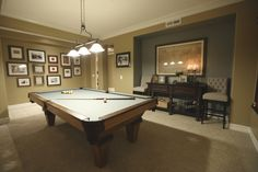 Get inspired by Traditional Design photo by Laura Aguilar Interiors. Wayfair lets you find the designer products in the photo and get ideas from thousands of other Traditional Design photos. Pool Table Games, Pool Table Room, Pool Tables, Game Room Bar, Game Room Decor, North Carolina, Billards Room, Pool Table Lighting, Basement Pool