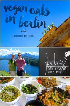 Indefinite Adventure: Five Eats in Berlin Vegan Miam Berlin Vegan, Berlin Food, Travel Around The World, Around The Worlds, Vacations To Go, Destinations, International Travel Tips, Hotels, Reisen In Europa
