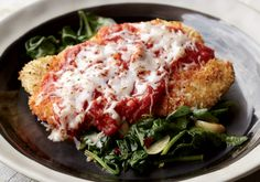 4 Healthy Chicken Recipes, including Chicken Parmesan #healthy #recipes