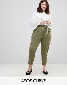 Discover Fashion Online  Pantalones de Tela para chicas Curvy