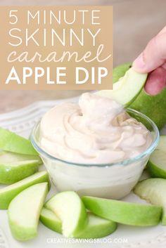 Skinny Caramel Apple Dip