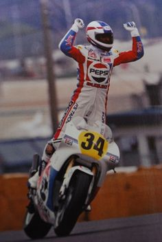 Kevin Schwantz : An American Champion with panache!