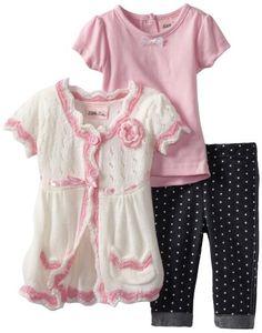 Little Lass Baby-Girls Infant 3 Piece Sweater Set with Pockets, White, 12 Months Little Lass,http://www.amazon.com/dp/B009M2Z2PU/ref=cm_sw_r_pi_dp_rQg-rb0JQXMRBVSF