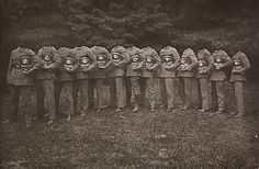 Unknown. [Group of Thirteen Decapitated Soldiers], ca. 1910. The Metropolitan Museum of Art, New York. Twentieth-Century Photography Fund, 2012 (2012.218)