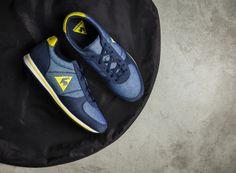 Le Coq Sportif BOLIVAR DENIM JR 021 #lecoqsportif #bluesneakers