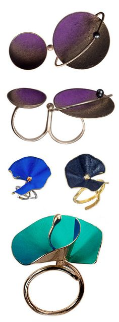 TheCarrotbox.com modern jewellery blog : obsessed with rings // feed your fingers!: Dimitra Papadimitriou