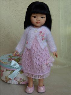 Праздничный наряд для девочек Паола Рейна / Одежда для кукол / Шопик. Продать купить куклу / Бэйбики. Куклы фото. Одежда для кукол