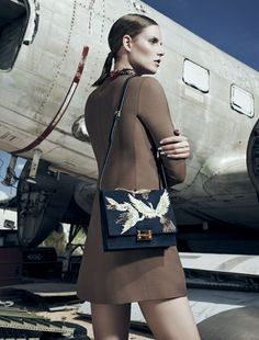 A New Dimension: Suvi Koponen by Gregory Harris for Bergdorf Goodman Magazine Fall 2014