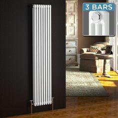 Vertical Radiators | Column Radiators | Tall Radiators - BathEmpire.com £209.99 inc  6454 BTU 1800x380mm