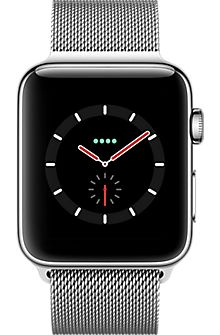 Apple WATCH Series 3 Stainless Steel Case w/ Milanese Loop - Silver - Sale! Shop at Stylizio for womens and mens designer handbags luxury sunglasses watches jewelry purses wallets clothes underwear New Apple Watch, Apple Watch Series 3, Vintage Rings, Vintage Jewelry, Fitbit, Black Stainless Steel, Apple Products, Unisex, Iphone