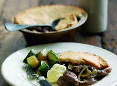 squab pie. england is the land of a million meat pies. gotta love it!