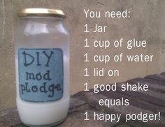 DIY Mod Podge by morecerv.
