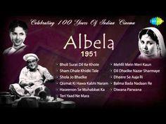 ▶ Albela [1951] Geeta Bali | Bhagwan Dada - Hindi Film Songs - Audio Jukebox - All Songs - YouTube