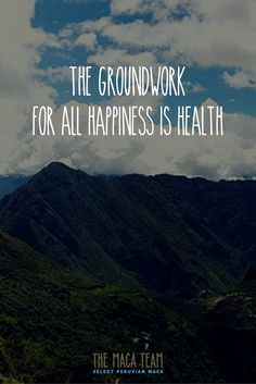 💚 Eat organic. Be happy. Enjoy the day. #MacaTeam #health #quote