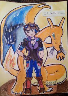 DAY 12 -- 30 days drawing challenge - Pokémon © Ariadna OC - http://artallerbizarro.blogspot.com.es/2015/09/day-12-30-days-drawing-challenge-pokemon.html