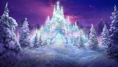 Ice Castle by Philip Straub - Ice Castle Mixed Media - Ice Castle ...