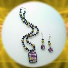 dichoric-glass-purple-and-goldtone-necklace-and-earring-set-1