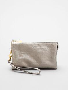 Convertible Wristlet Clutch / Crossbody Bag