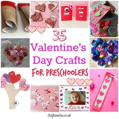 Valentines Day Crafts for Preschoolers - Crafts on Sea