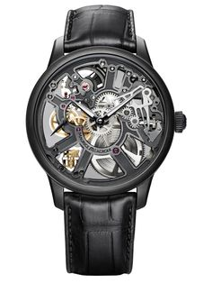 Maurice Lacroix Masterpiece Squelette FC Barcelona Edition MP7228-PVB01-002 - Retail $6,900