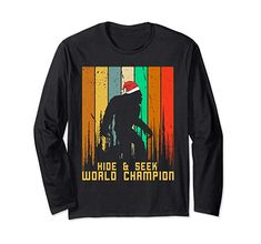efce5958 Hide and Seek Champion Vintage Bigfoot Christmas T-Shirts Do you love &  believe Bigfoot