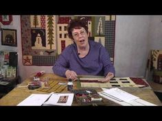 ▶ Applique with Jan Patek- Big House Pattern Tips & Tricks - YouTube