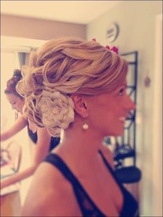 Wedding hair- I love the detail! Bride hair