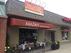 Mazah Mediterranean Eatery   Columbus, OH {Grandview} MMMM! The food is oh so delish!!