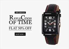 Time For Yepme Sale .......... Refle Ction Of Time Flat 50% Off On Man And Women Watches in New Arrivals .........If u want Buy n More coupons n Deals Click To >>>>>>>> http://www.coupontrends.in/store/yepme/
