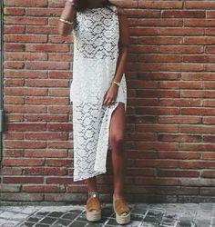 Eivissa Capa-Dress por ImTanyaO en Etsy